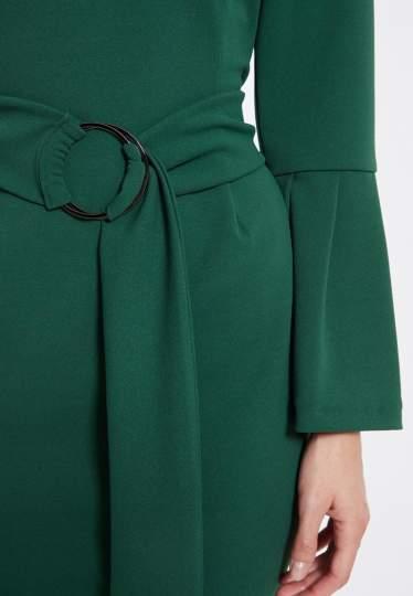 Detailansicht 2 von Ana Alcazar Gürtel Kleid Romys Grün