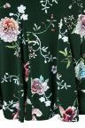 Materialansicht von Ana Alcazar Langarm-Kleid Polxea