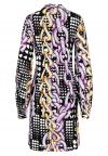 Fabric View of Blouse Dress Bevis