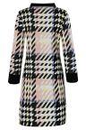 Materialansicht von Ana Alcazar Sixties Kleid Velmoroy Grey