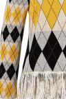 Materie Details van Ana Alcazar Lange Mouwen Top Vekoni Geel