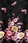 Fabric View of Ana Alcazar A-Shaped Dress Obany