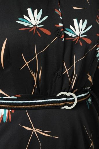 Ana Alcazar Midi Dress Odiny