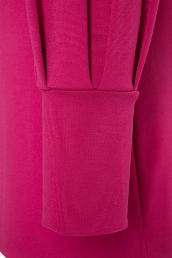 Ana Alcazar Puffärmel Kleid Olisudy Pink