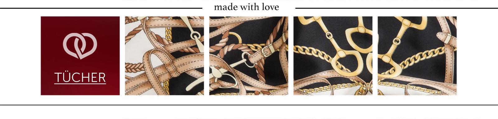 High-Fashion Strick und Seidenschals für trendige Outfit Kombinationen Schal & Tücher Schal & Tücher