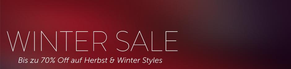 Winterkollektion bis zu 70% reduziert Winter Sale Winter Sale