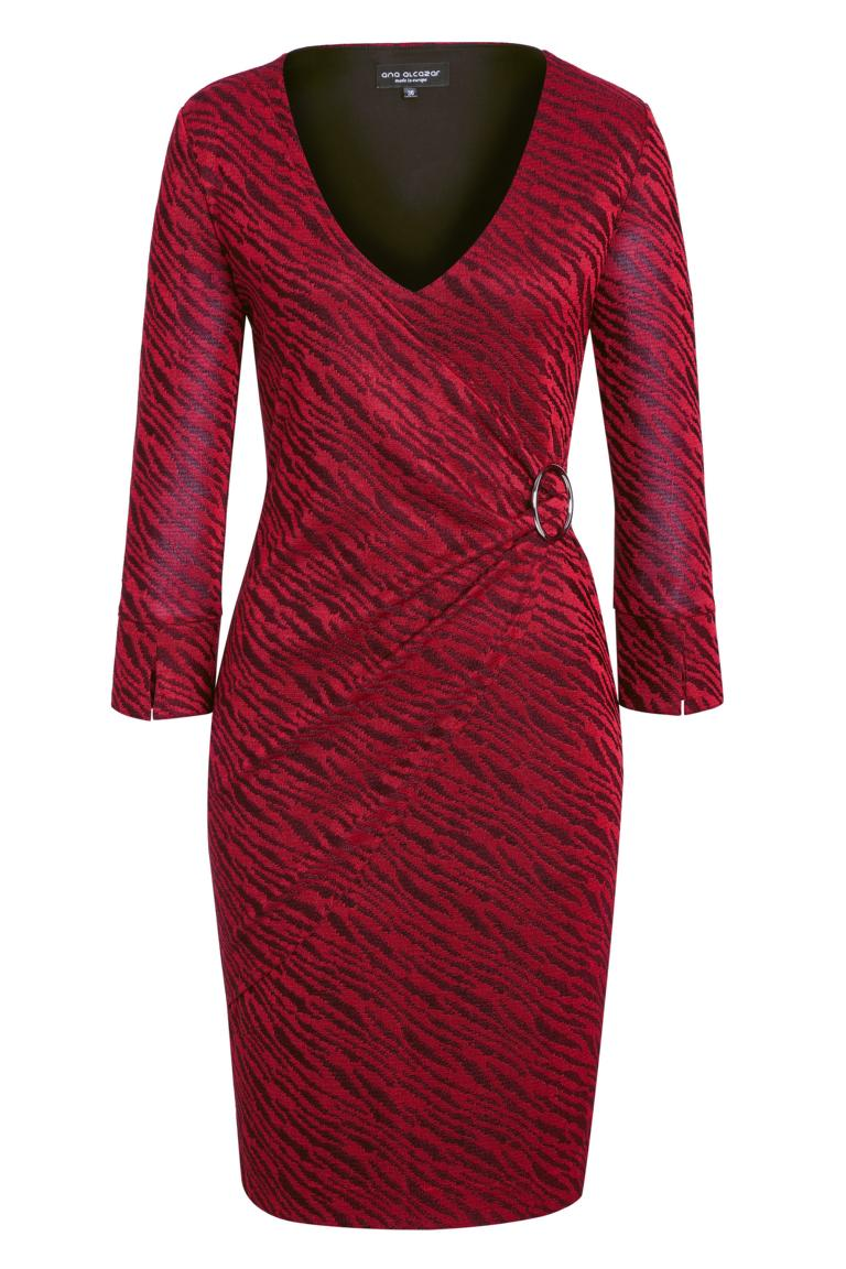Ana Alcazar Wrap Dress Kimely