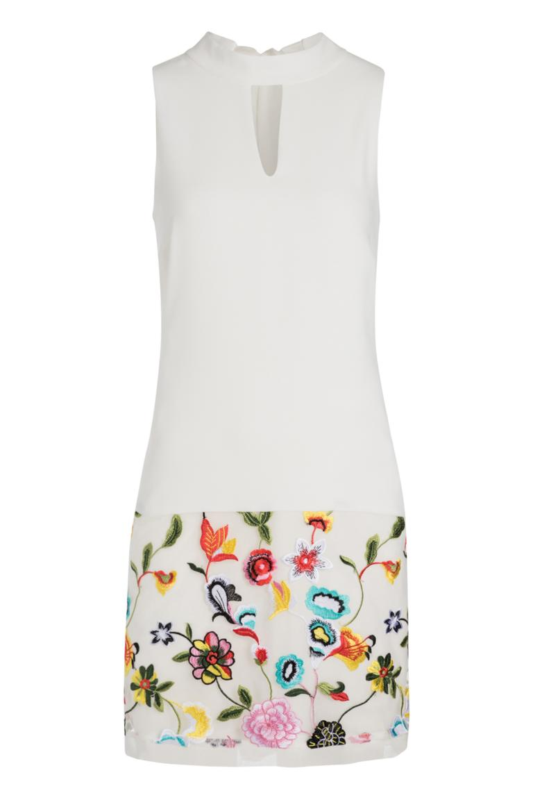 Ana Alcazar Embroidery Dress Nusaya
