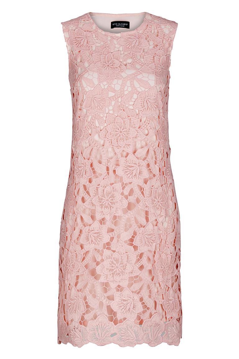 roze jurk a lijn