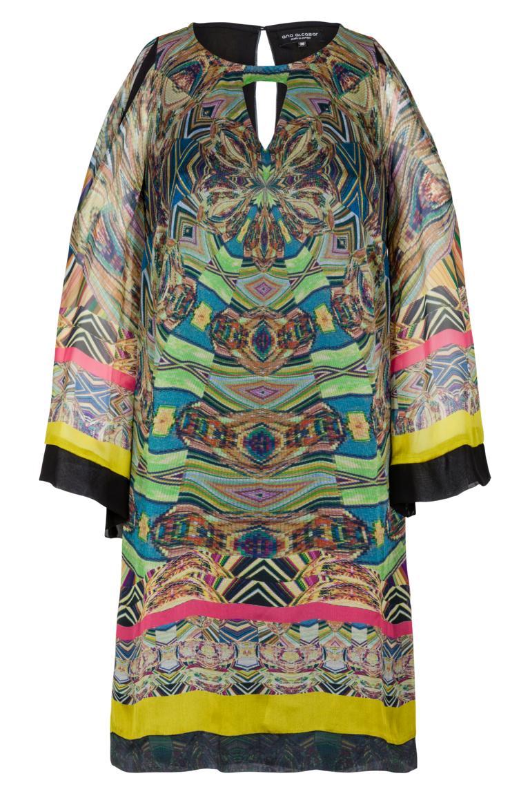 Ana Alcazar Silk Tunic Dress Fortiny