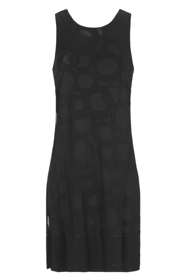 Ana Alcazar A-Linien Kleid Black Firey