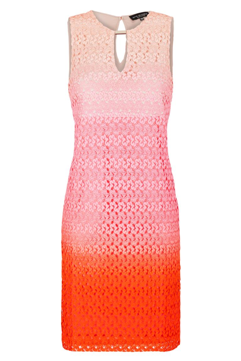 Ana Alcazar A-Shaped Dress Pink Famony