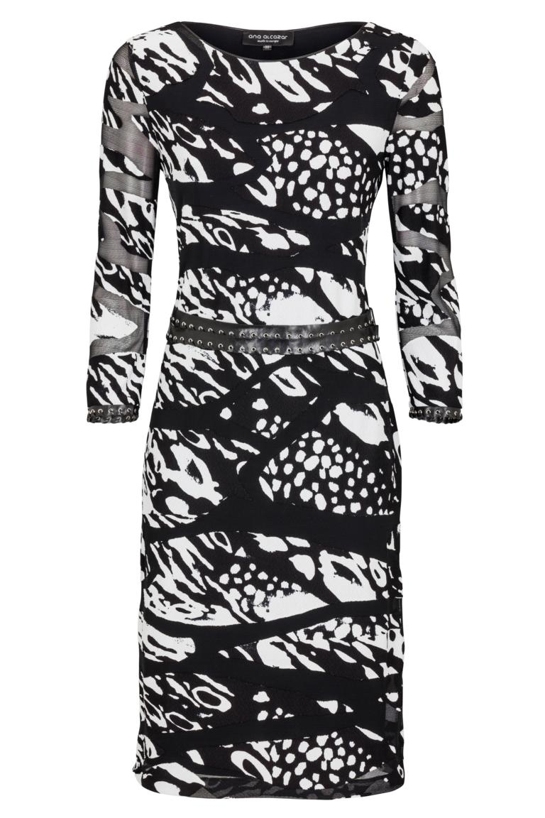 Ana Alcazar Printed Dress Kanymes
