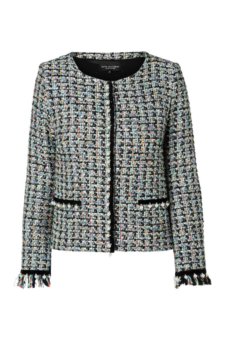 Ana Alcazar Tweed Jacket Oria