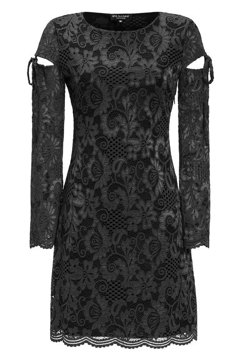 black lace cocktaildress leybelle ana alcazar. Black Bedroom Furniture Sets. Home Design Ideas