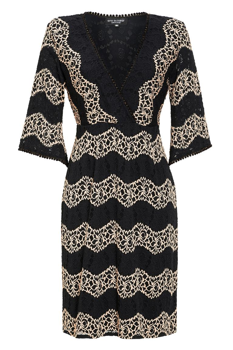 Ana Alcazar Crochet Dress Leandra
