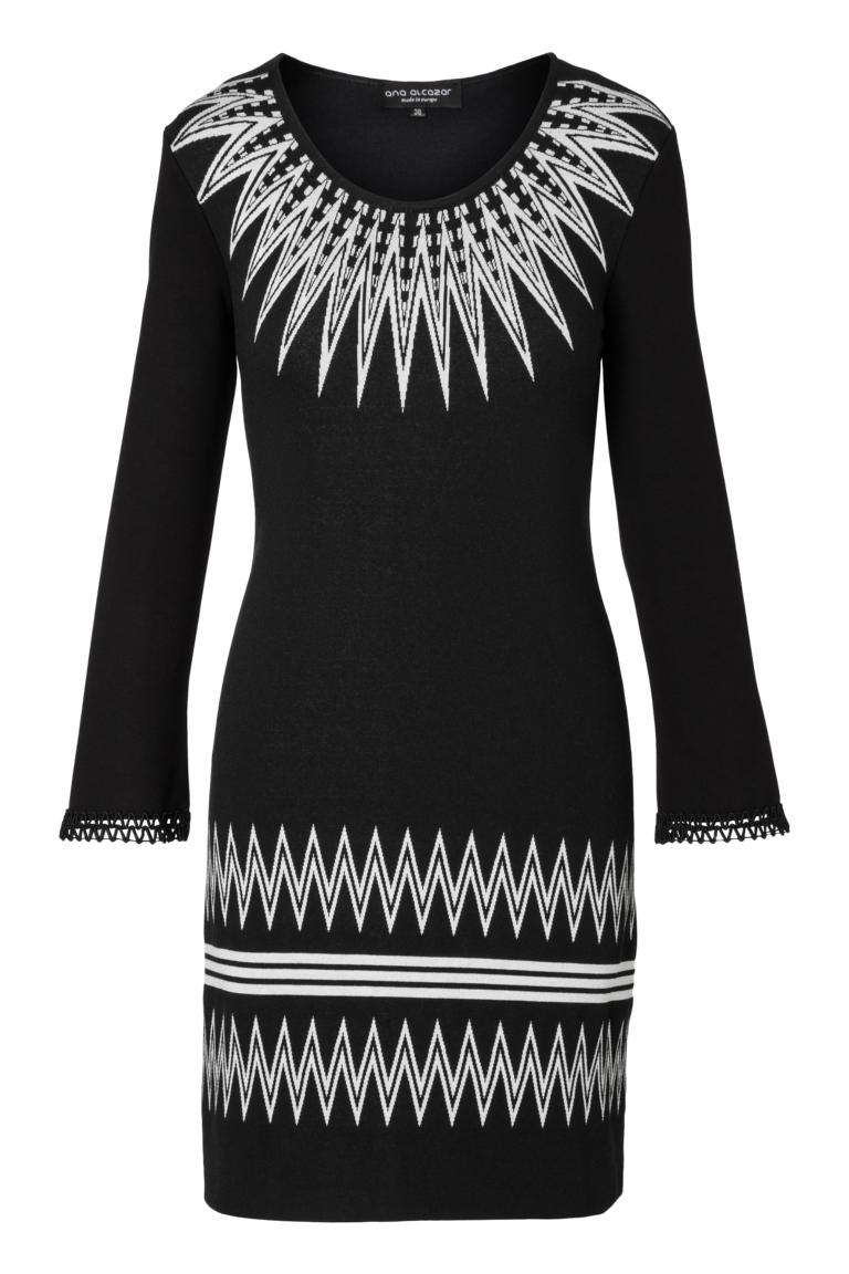 Ana Alcazar Sleeved Dress Pollya