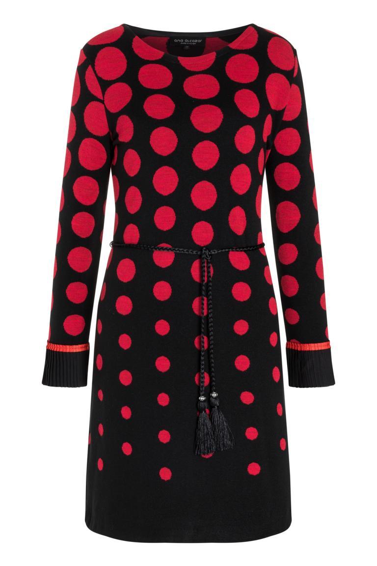 Langarm Kleid Preya mit Polka-Dots  Ana Alcazar