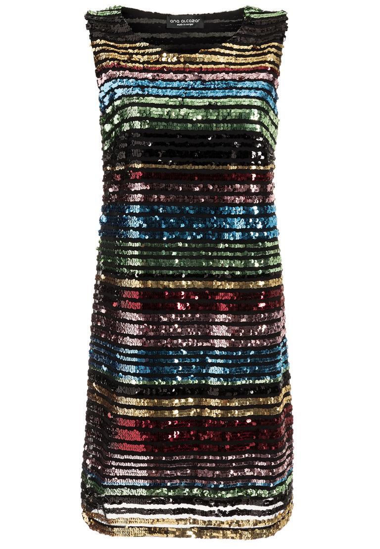 Ana Alcazar Black Label Pailletten Kleid Rubys