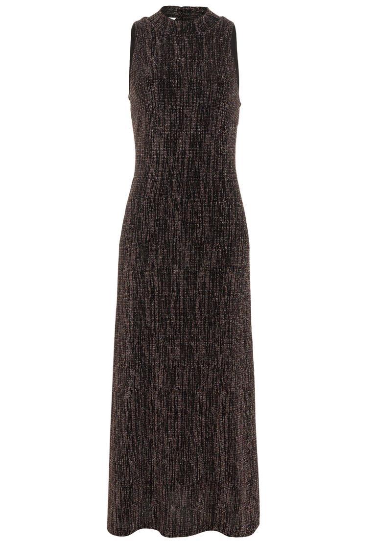 Ana Alcazar Glitter Maxi Dress Rafesa