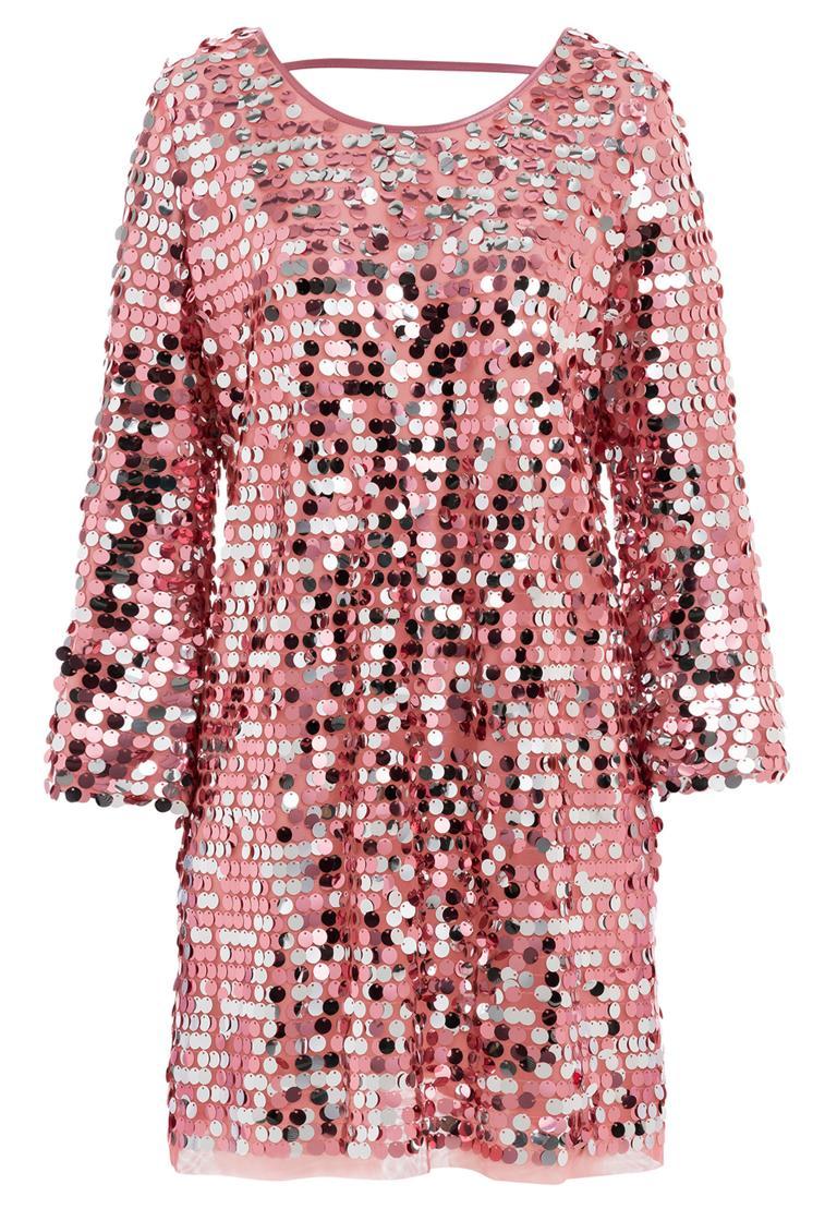 Ana Alcazar Glam Pailletten Kleid Rhetas Rose