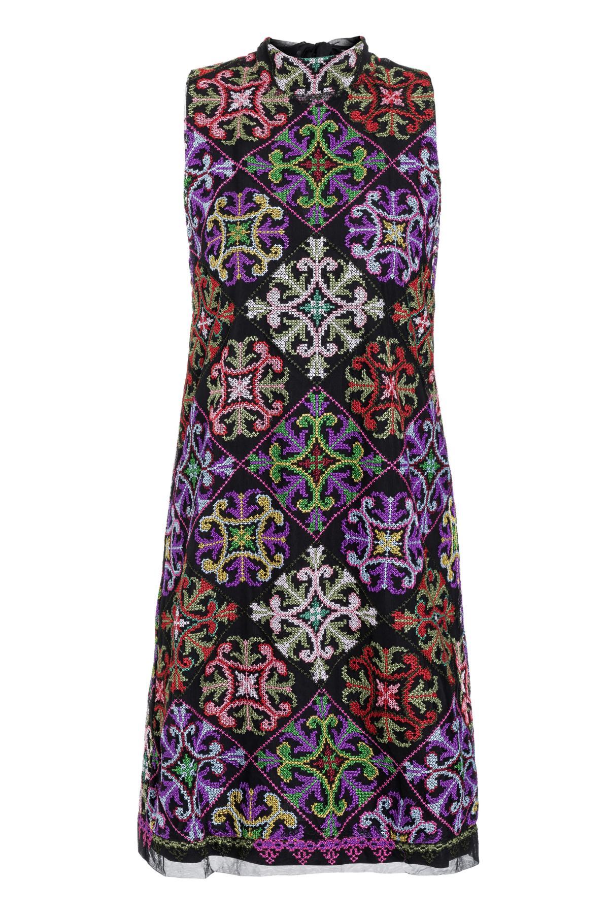 Ana Alcazar Bow Dress Salnea