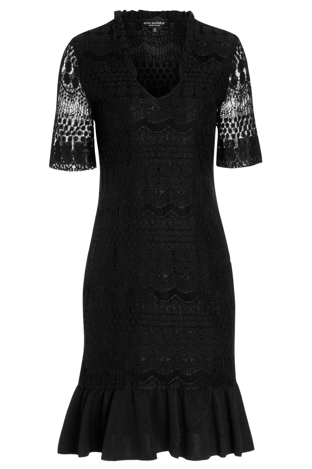 Ana Alcazar Shortsleeve Dress Santy Black