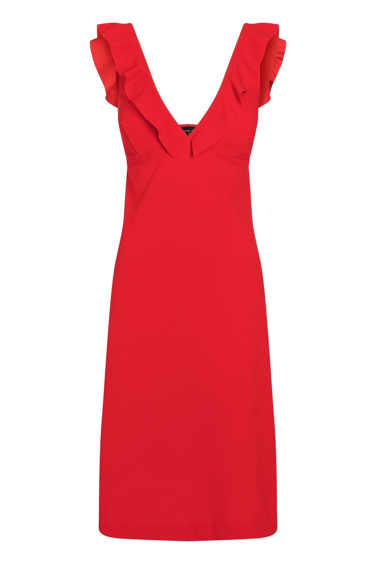 Ana Alcazar Flamenco Dress Sawona Red