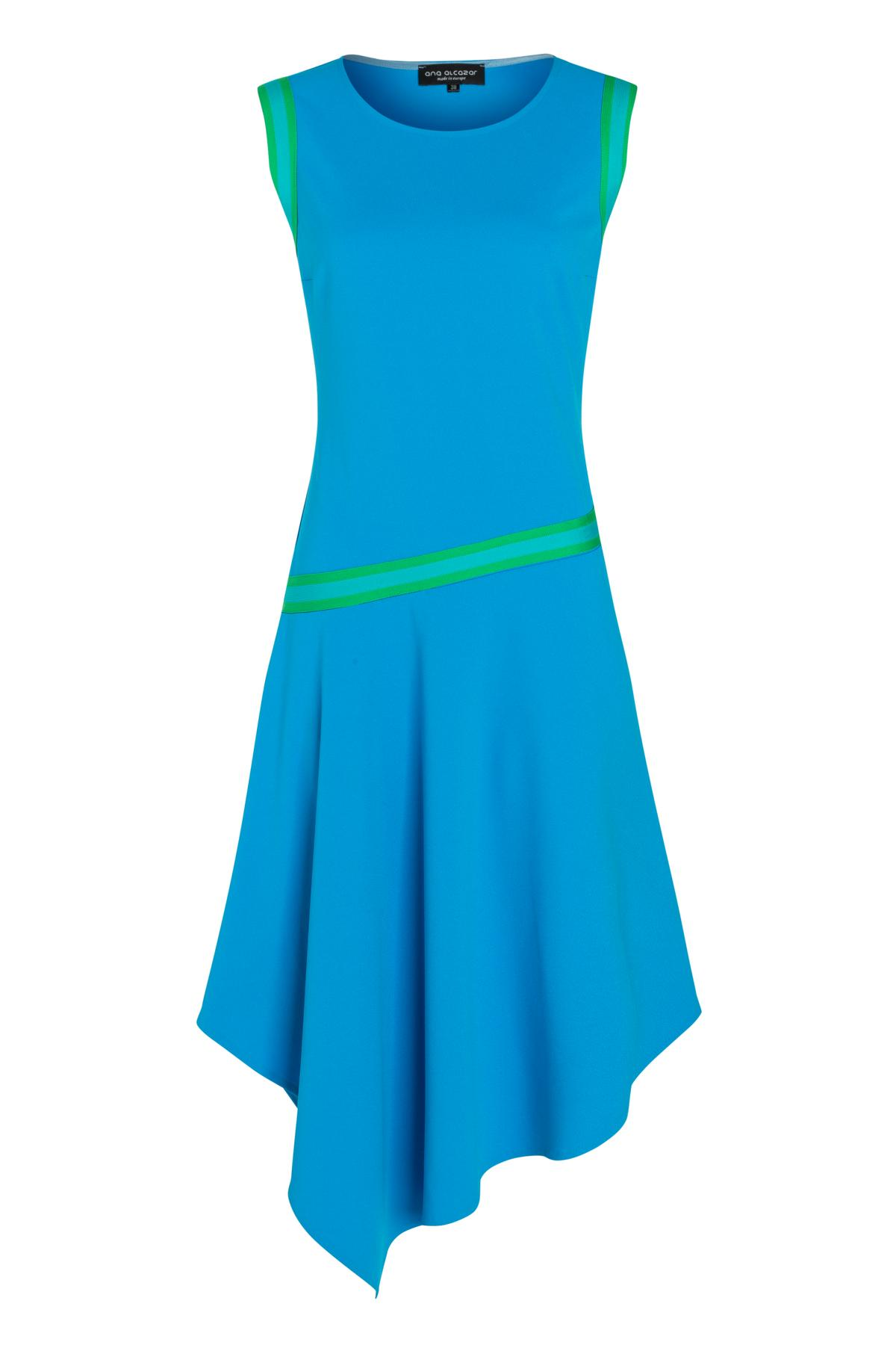 Ana Alcazar Midi Dress Savna Blue