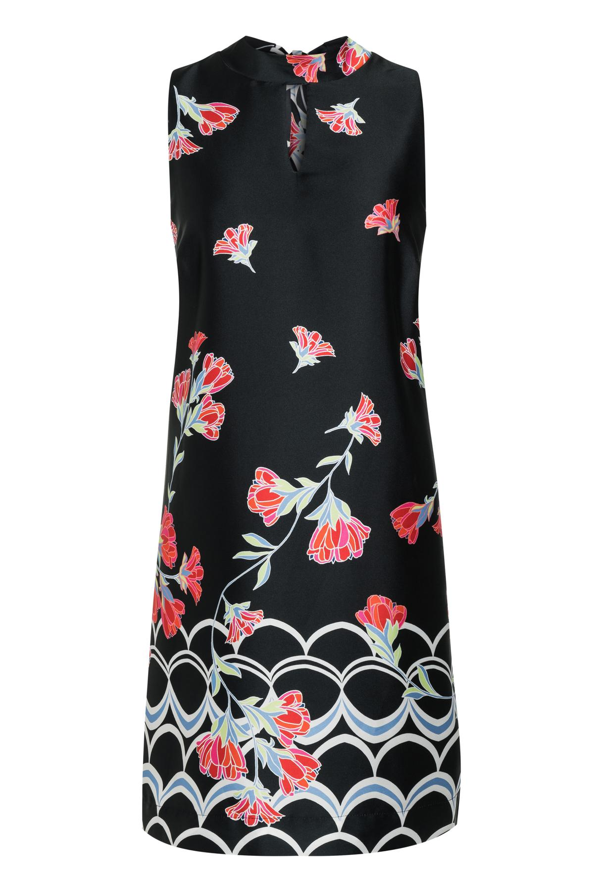 Ana Alcazar A-Shaped Dress Sefata Black