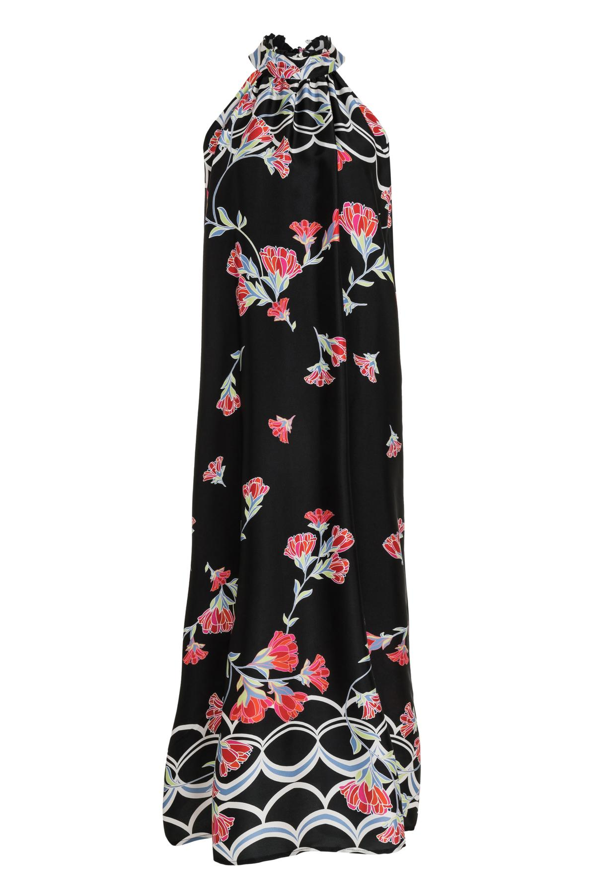 Ana Alcazar Maxi Dress Sefada Black