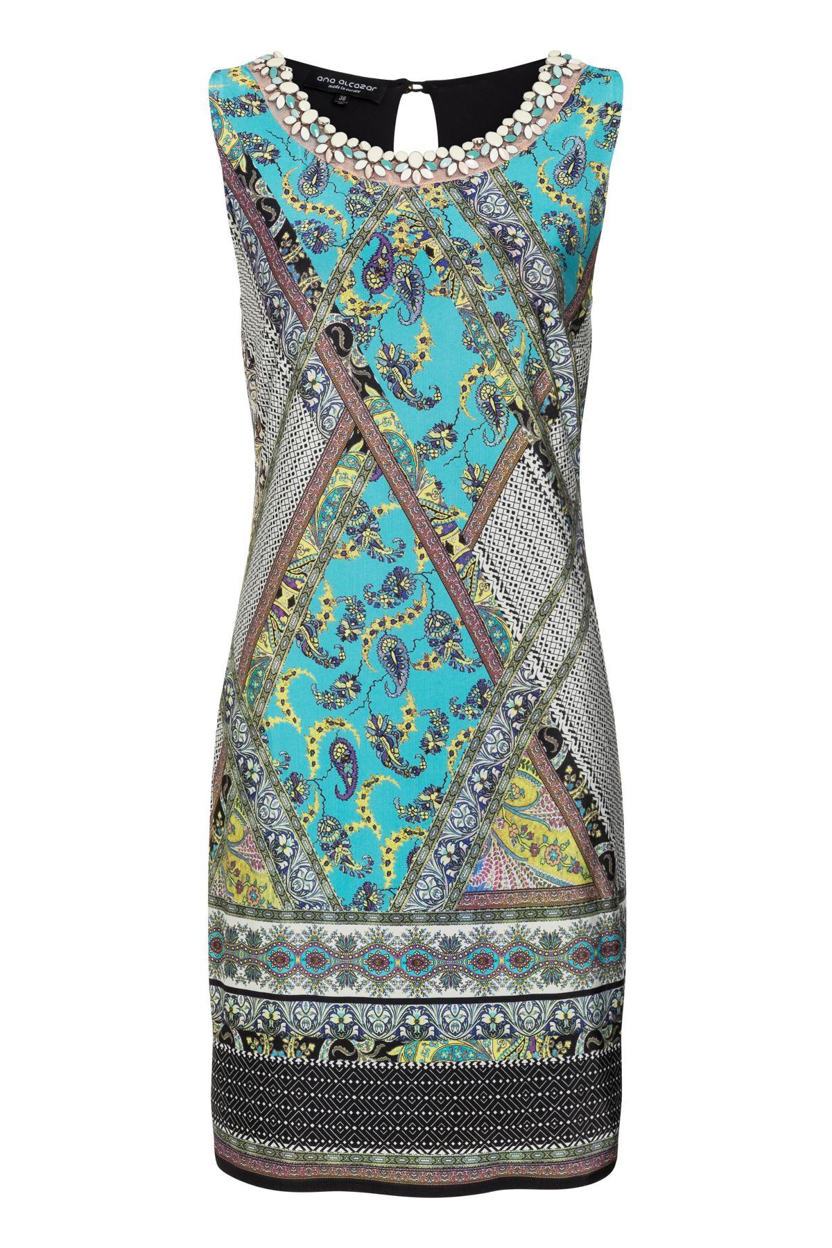 Ana Alcazar Sleeveless Dress Setane