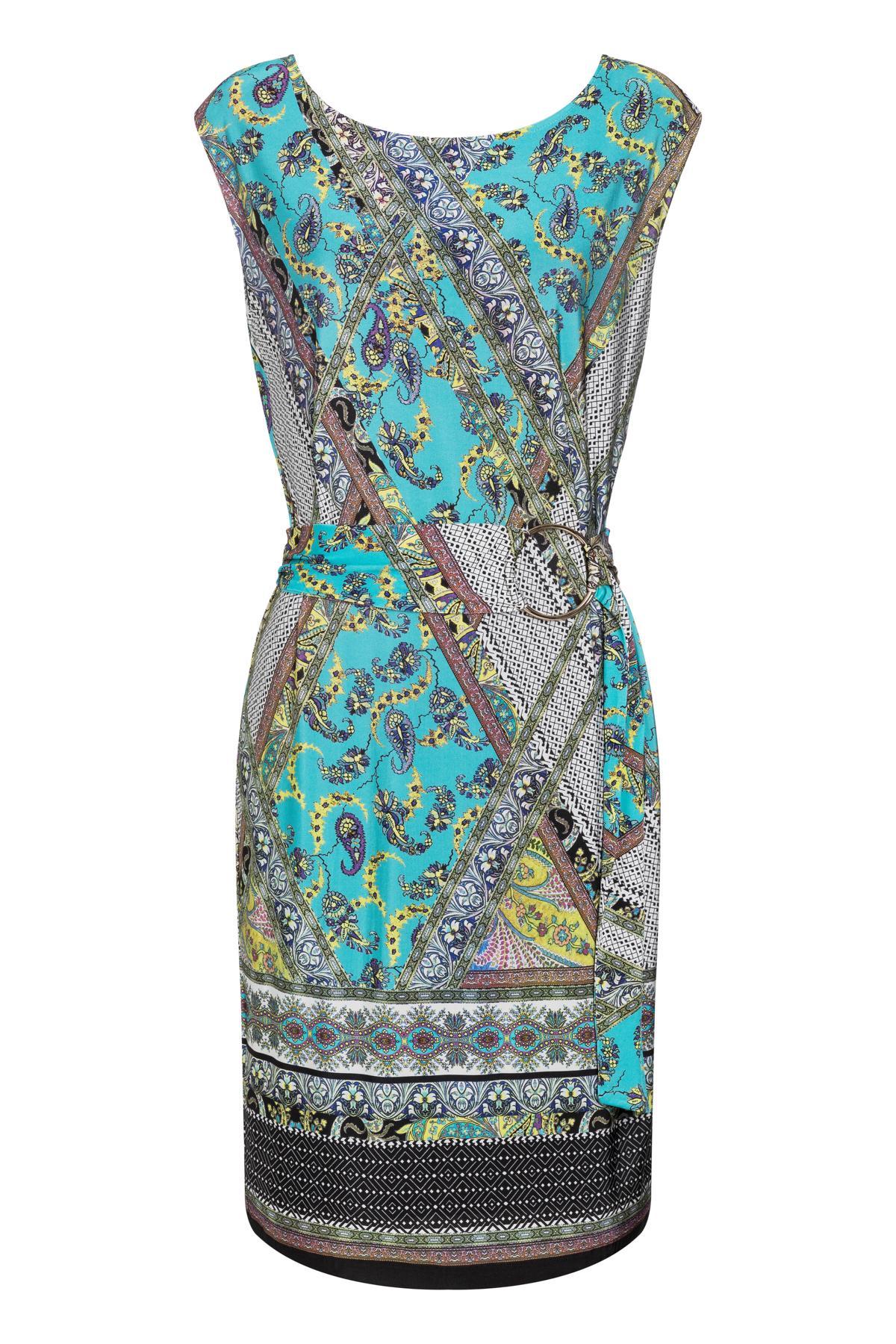 Ana Alcazar Patchwork Dress Setrari