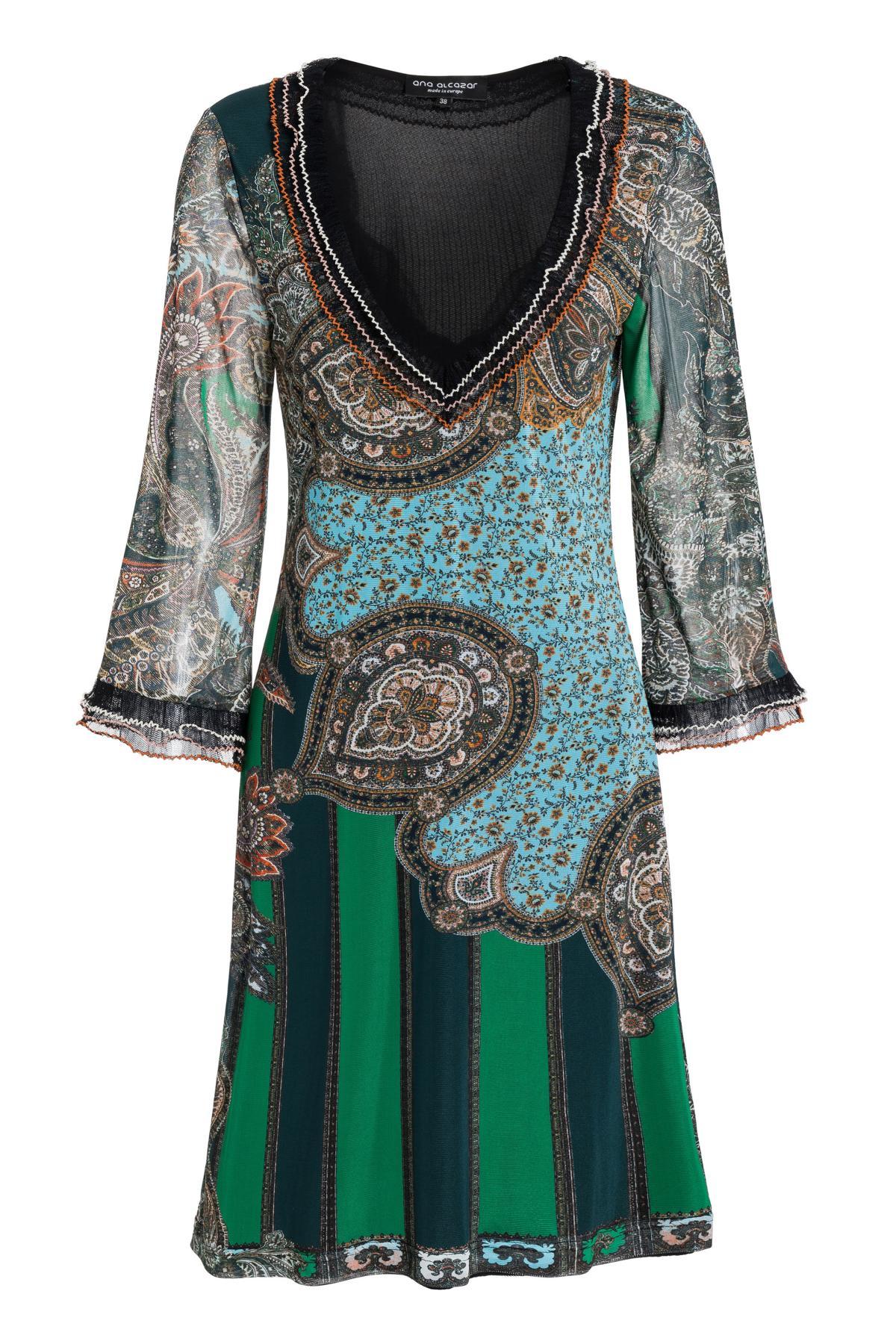 Ana Alcazar Frill Dress Shara