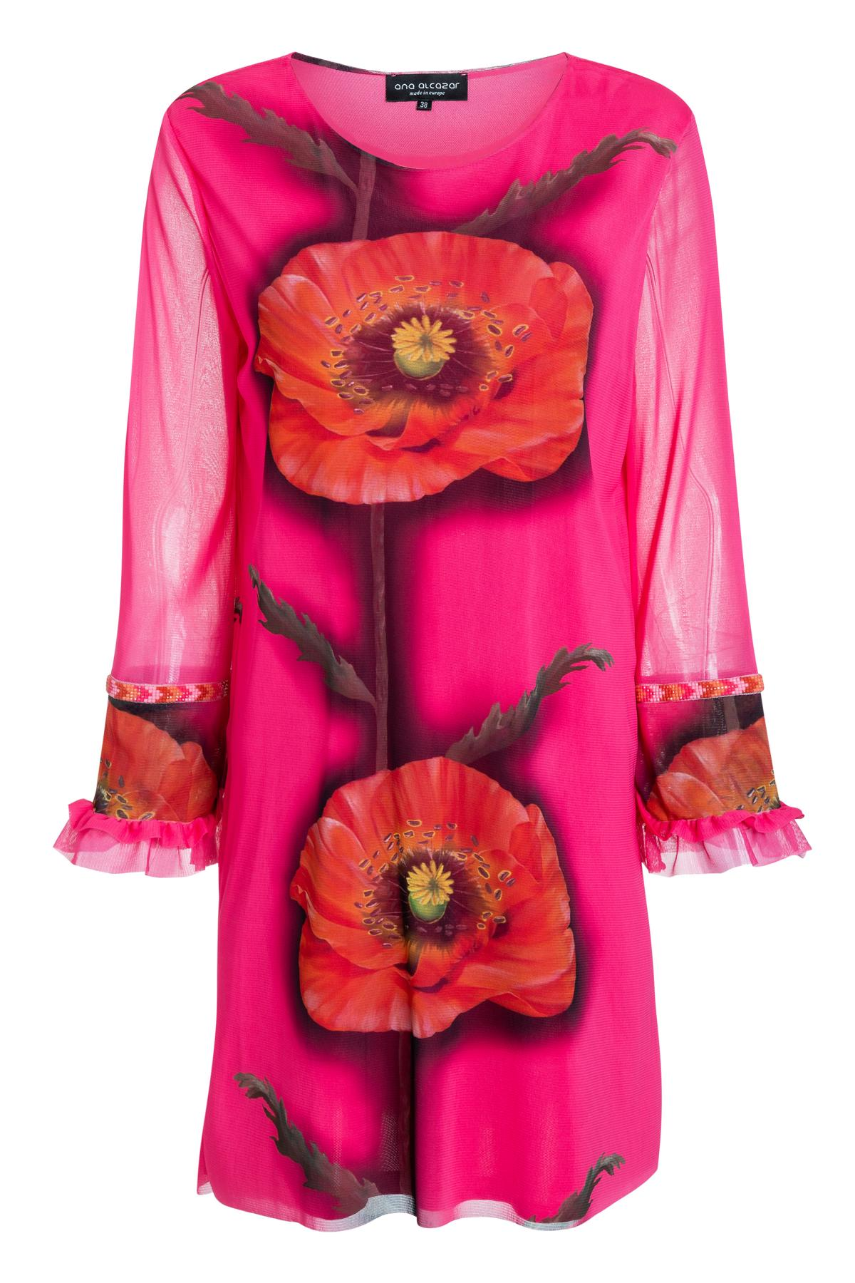 Ana Alcazar Longsleeve Dress Siany