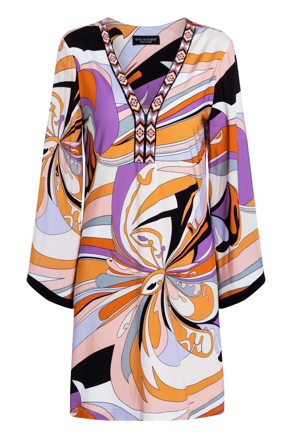 Ana Alcazar Tunic Mini Dress Simano