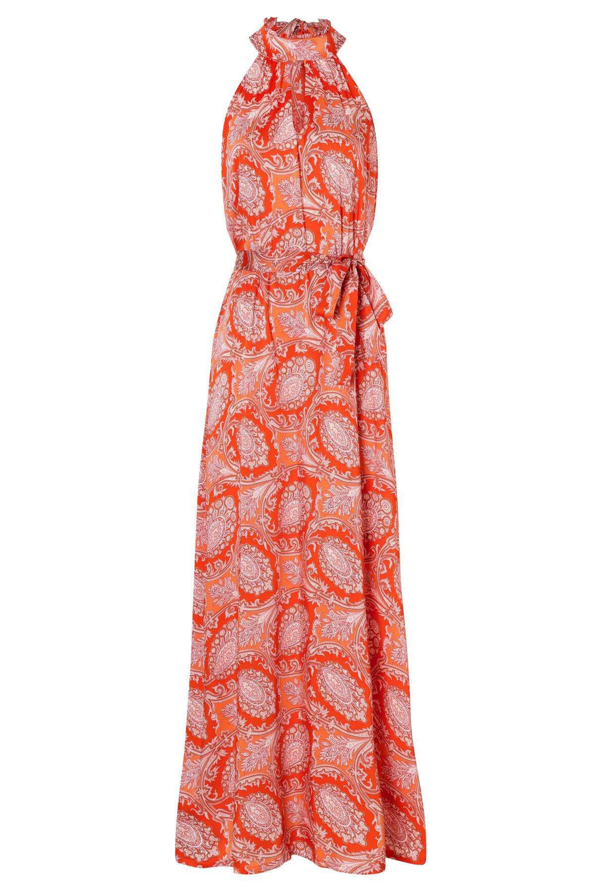 Ana Alcazar Maxi Dress Tefame Red