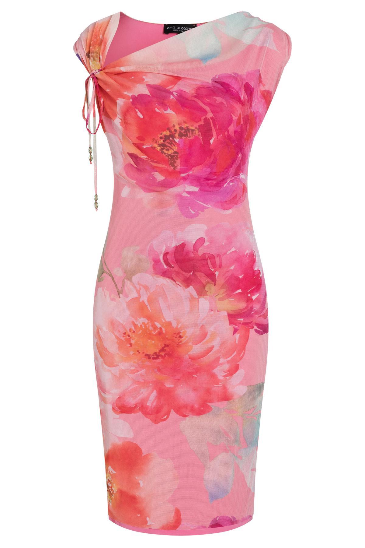 Ana Alcazar Wasserfall Kleid Teginy