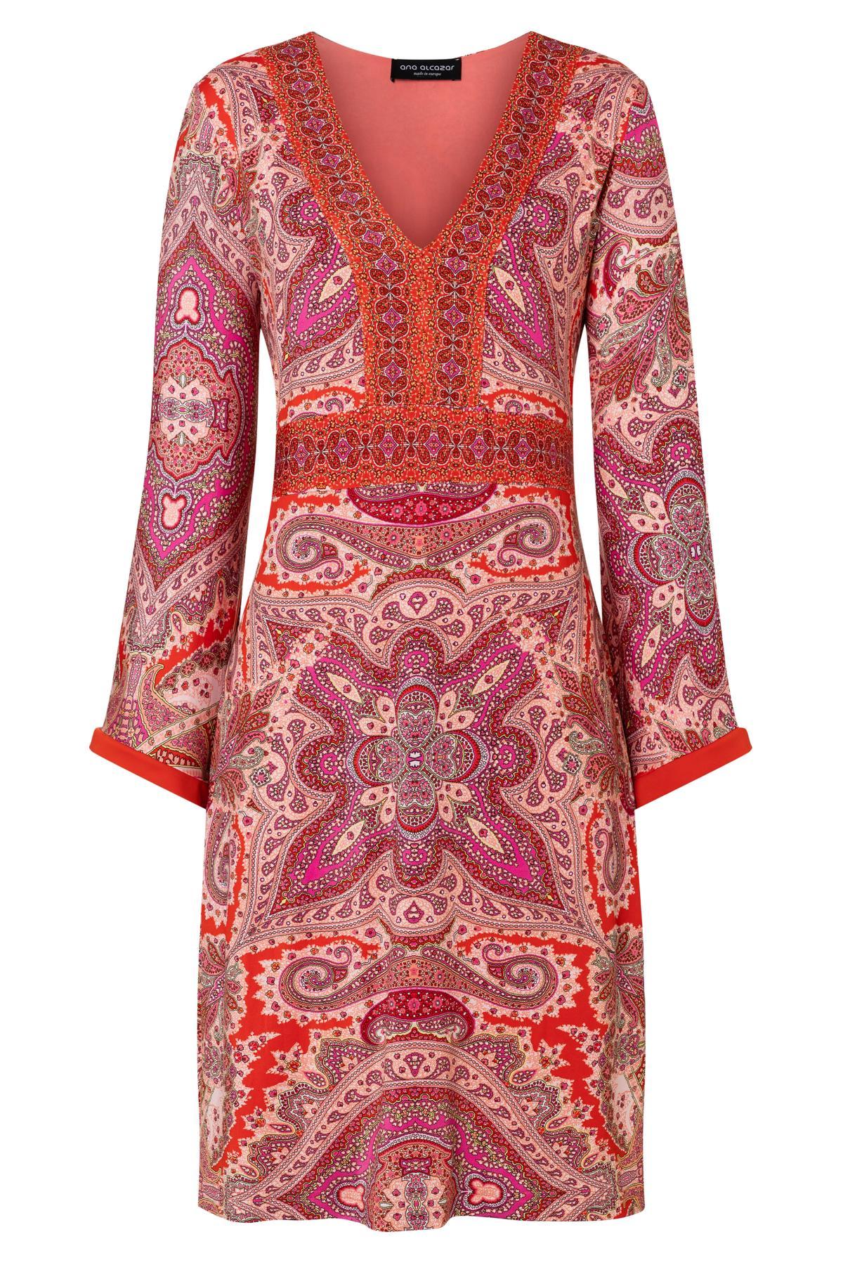 Ana Alcazar Langarm Kleid Zafah 12