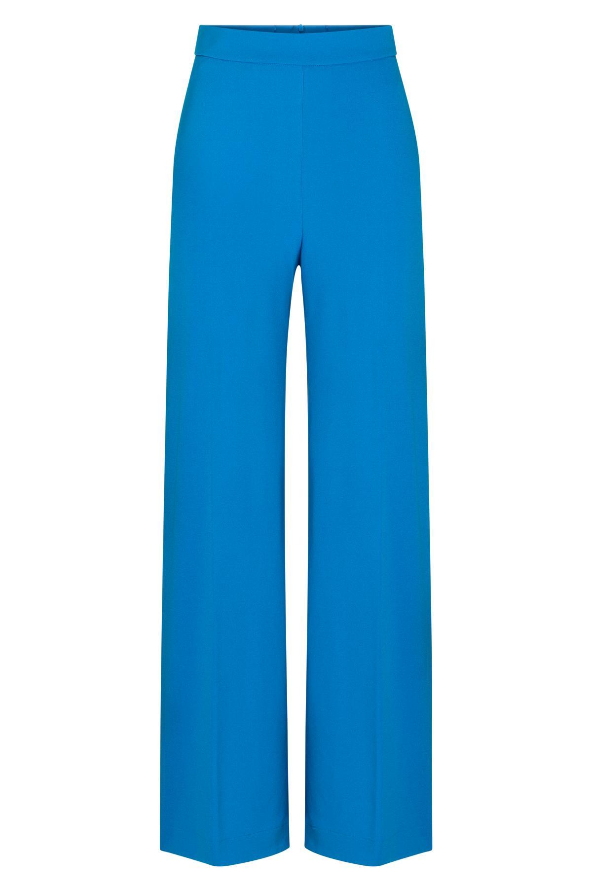 Ana Alcazar Wide Pants Sazosa Blue