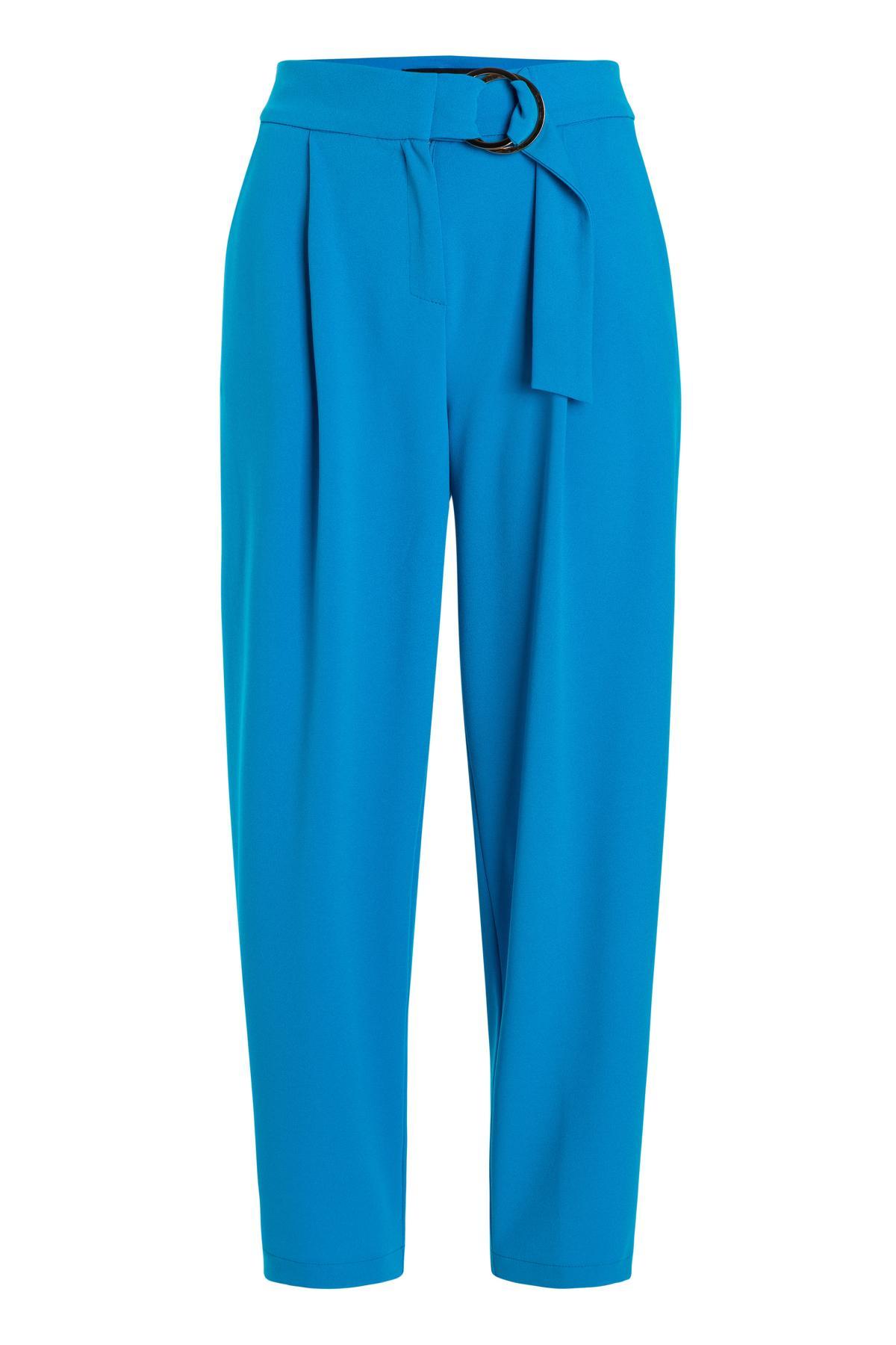 Ana Alcazar Cropped Pants Seadani Blue