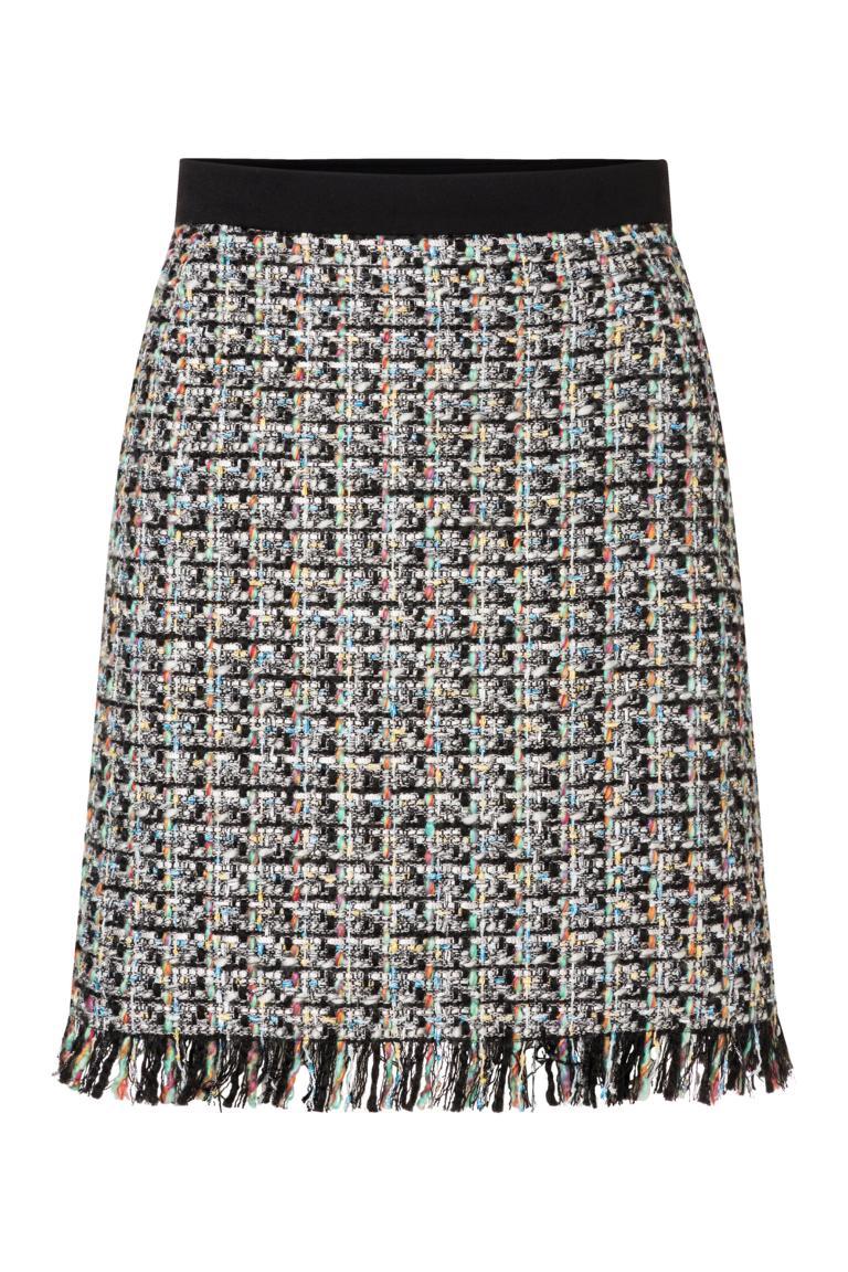 Ana Alcazar Tweed Skirt Orita