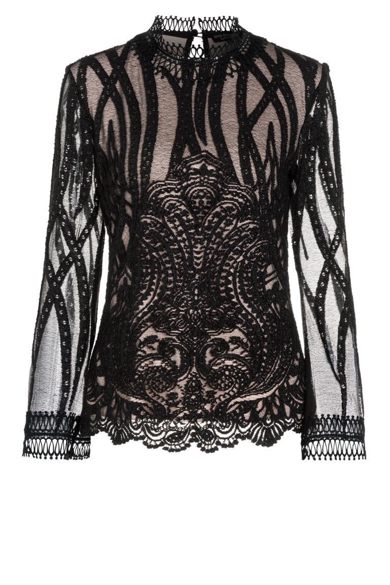 Ana Alcazar Spitzen Shirt Ranja