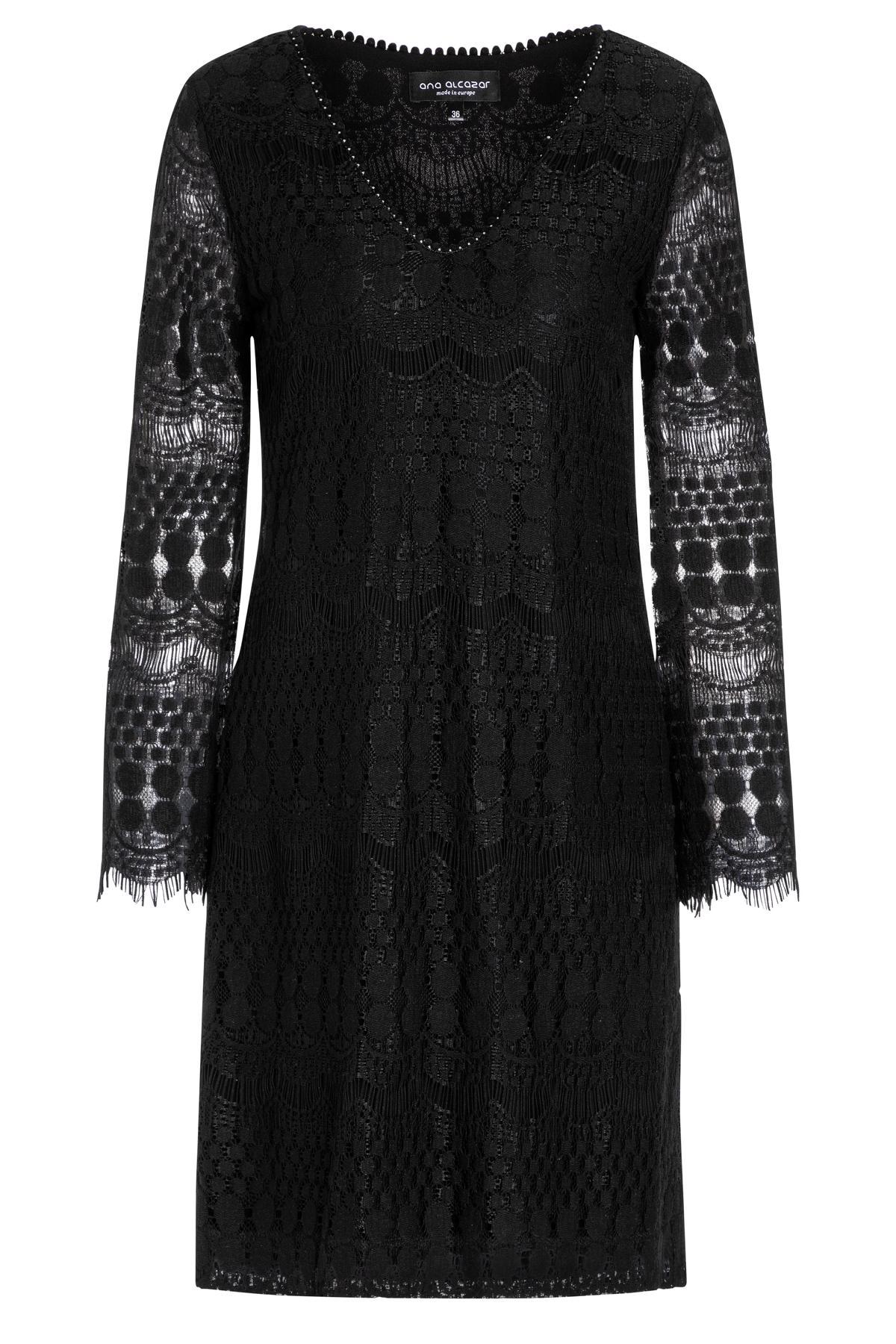Ana Alcazar Tunic Dress Sanice Black