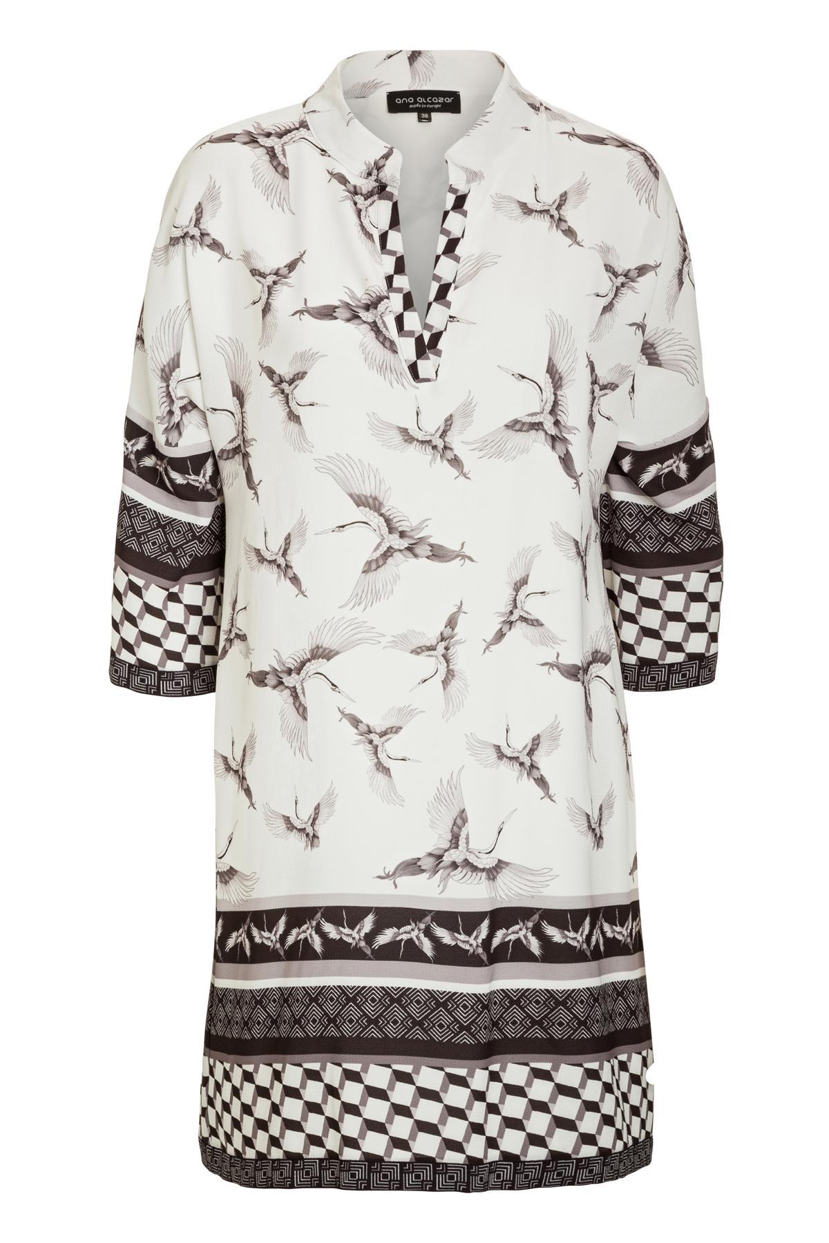 Ana Alcazar Tunic Dress Meily White