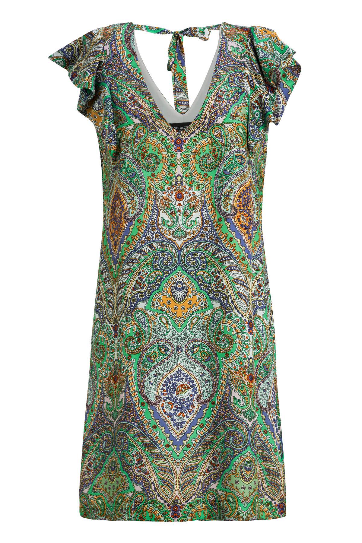 Ana Alcazar Volant Dress Moana