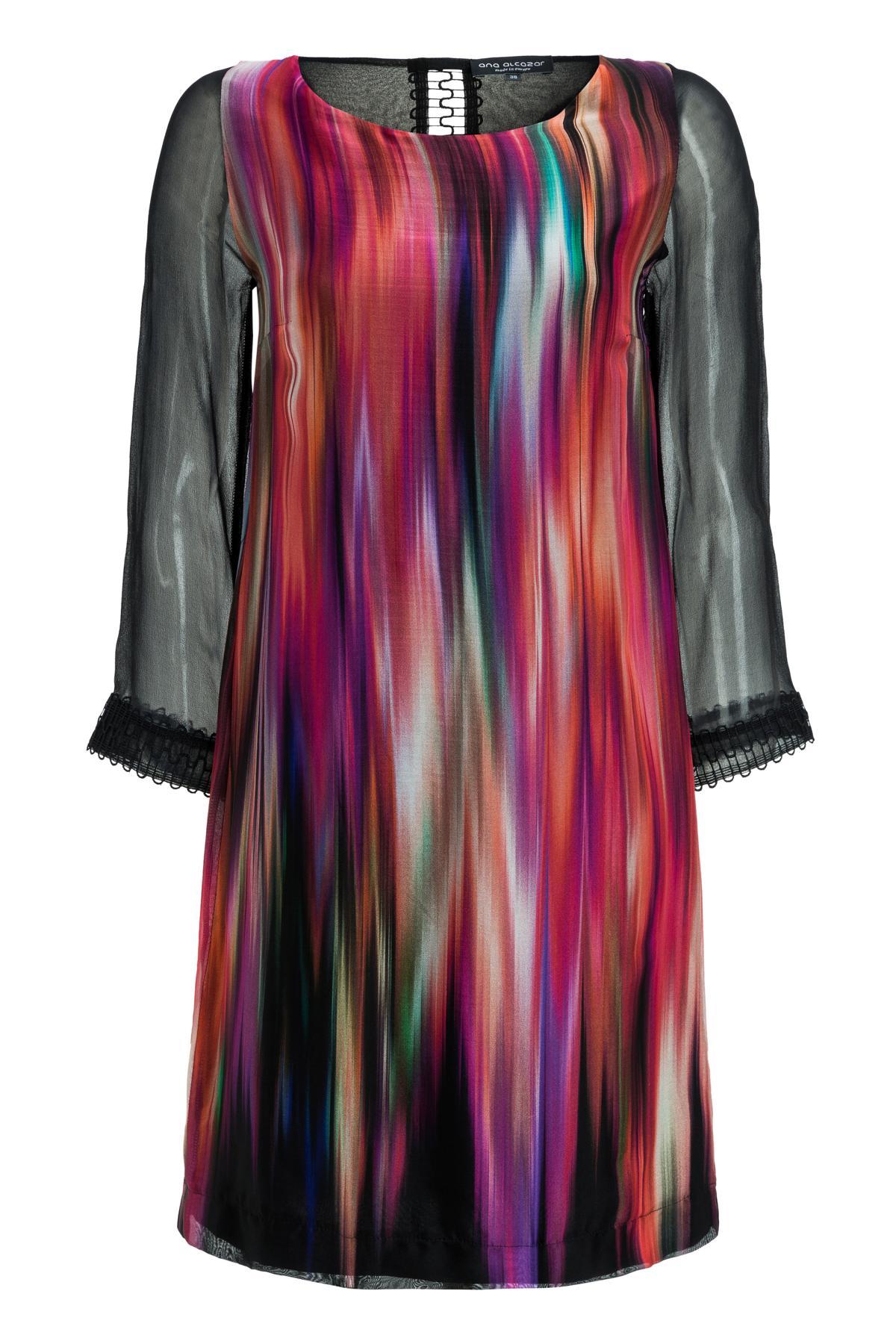 Ana Alcazar Silk Tunic Dress Madjely
