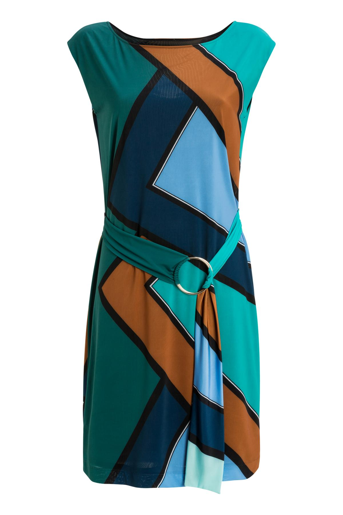 Ana Alcazar Graphic Dress Mancynis