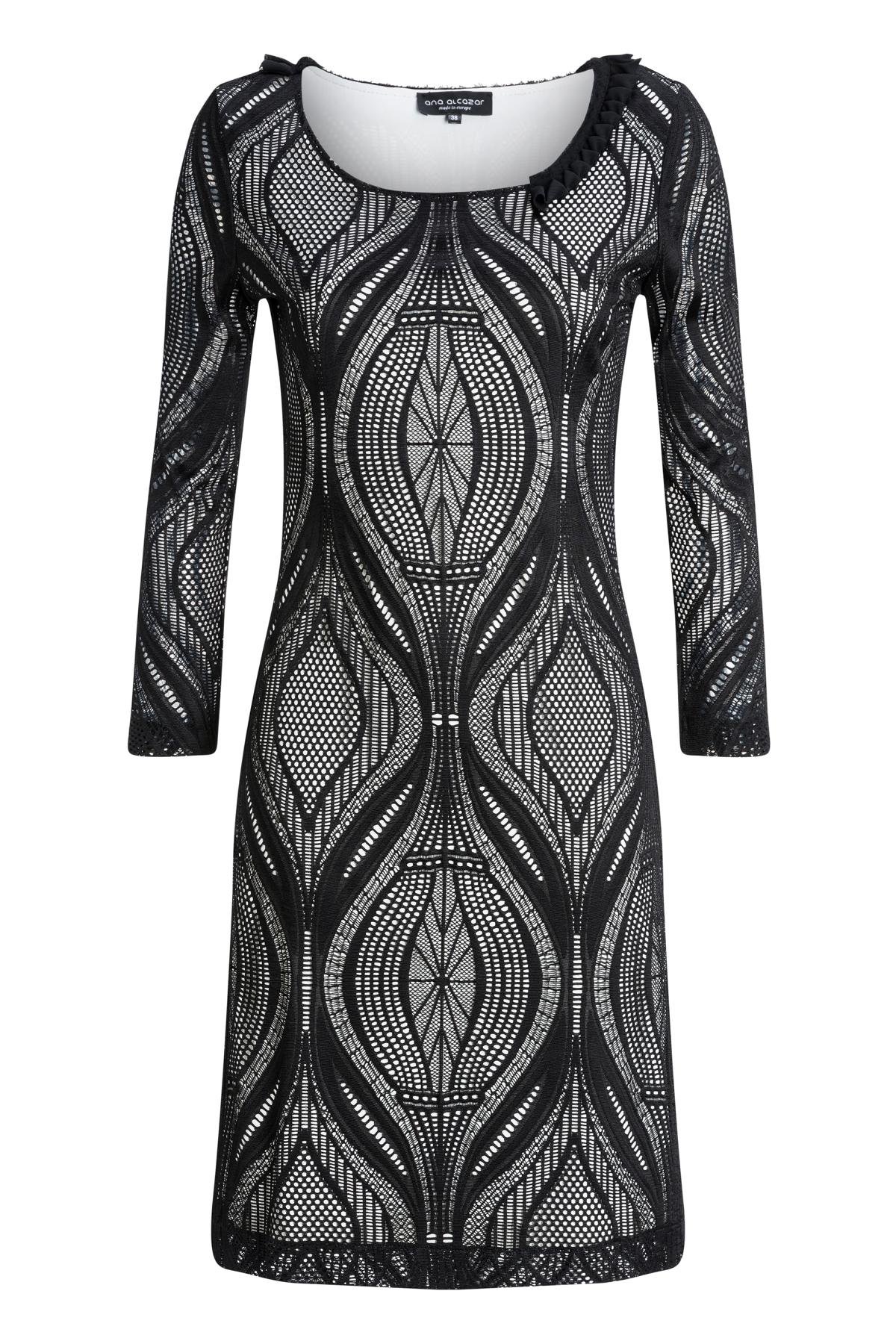 Ana Alcazar Sleeve Dress Mulay