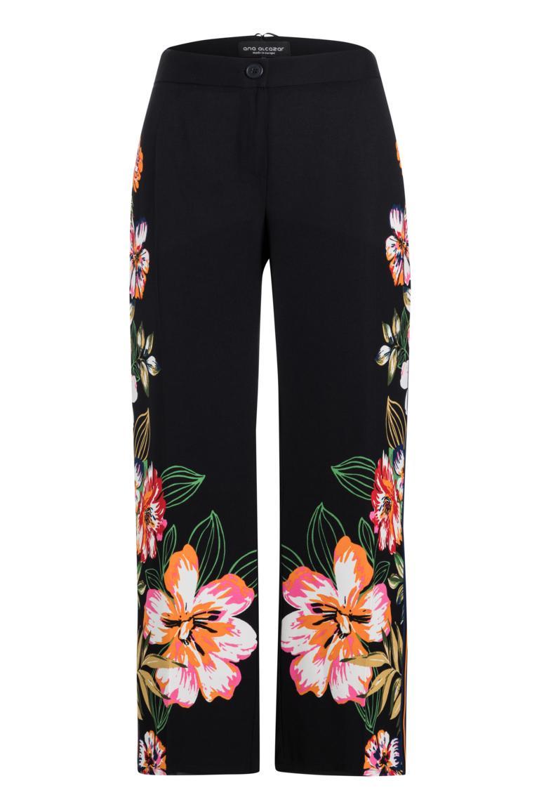 Ana Alcazar Trousers Meanissy Dark